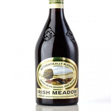 Beatson Clark Creates Embossed Bottle for Irish Meadow