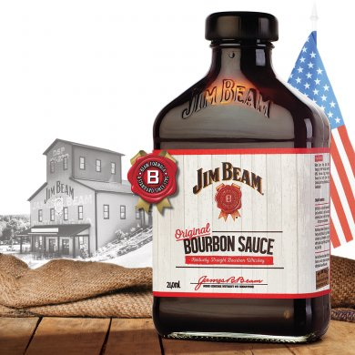 Jim Beam Bottle Captures Flavour of Kentucky