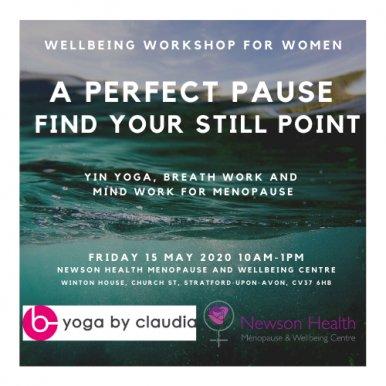 Yin yoga with Claudia Brown