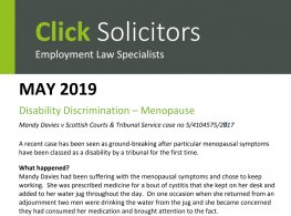 Menopause Symptoms Classed as Disability Court Rules | Newson Health