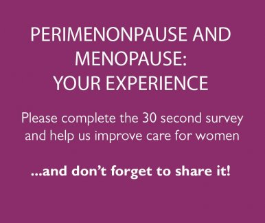 Survey - Menopause and Perimenopause Experience