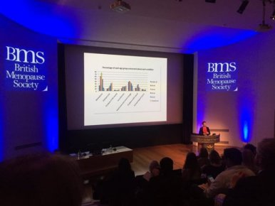 Dr Louise Newson attends British Menopause Society Conferenece