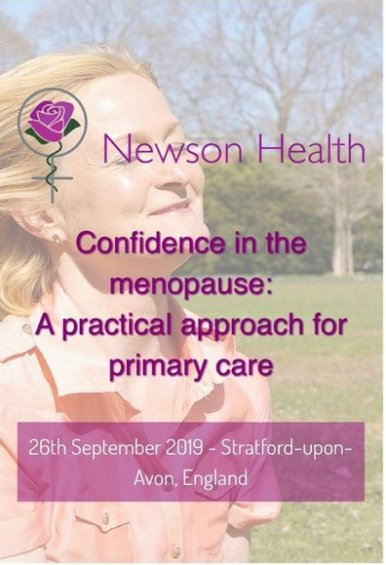 Confidence in Menopause - a practical approach for primary care