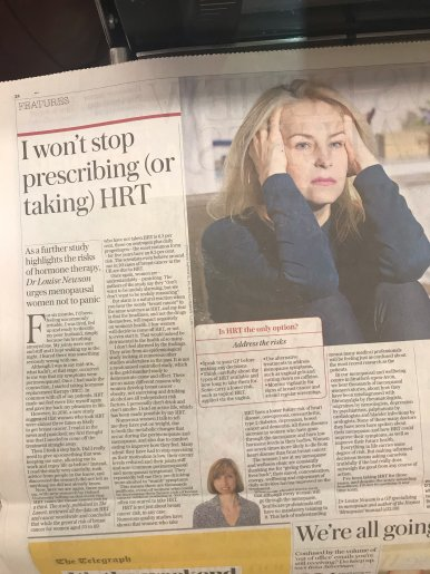 """As a doctor and menopause specialist, I'm sticking with HRT"""