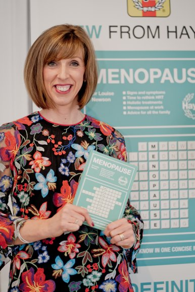 Guest gather to celebrate the launch of Dr Newson's first book on the menopause