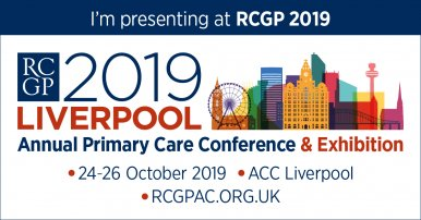 Dr Newson to present at RCGP Annual Primary Care Conference & Exhibition