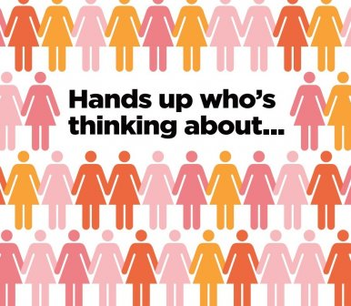Hands up who's thinking about...the Menopause