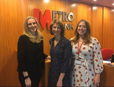 Dr Rebecca Lewis talks Menopause at Metro Bank Headquarters