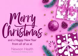 Christmas 2019 message from Dr Louise Newson | Newson Health