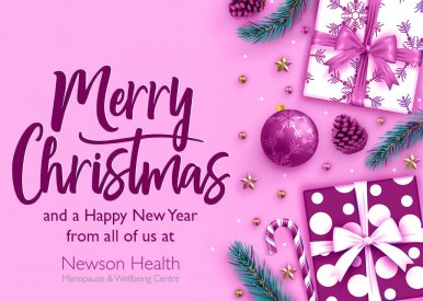 Christmas message from Dr Louise Newson