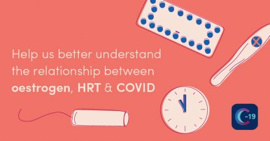 Menopausal women taking HRT may have increased protection from COVID-19