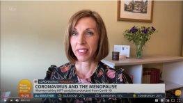 Dr Newson on ITV's Lorraine Show: Oestrogen & COVID19 | Newson Health