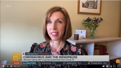 Dr Louise Newson on Good Morning Britain: Oestrogen and COVID-19
