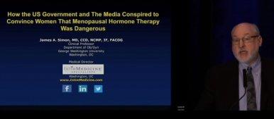 Misrepresentation of HRT - Prof James Simon Lecture