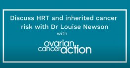 HRT Q&A with Ovarian Cancer Action UK | Newson Health