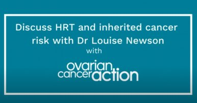 HRT Q&A - Dr Louise Newson and Ovarian Cancer Action UK