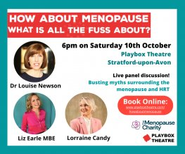 Live Menopause Event at Playbox Theatre | Newson Health