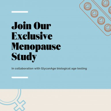Exclusive Menopause Study Launched by Newson Health Research & Education and GlycanAge