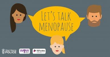 West Mercia Police Hold Menopause Webinar with Dr Verity Biggs