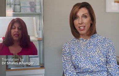 Dr Louise Newson Launches Series of Videos with Hindi Translations