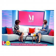 Menopause and work with Lorraine Kelly