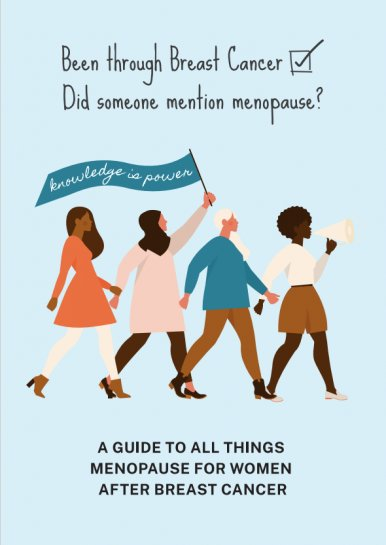A guide to all things menopause for women after breast cancer