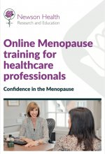 Tell your healthcare professional about menopause training course