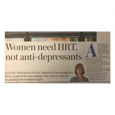 GPs Need to Prescribe HRT, Not Antidepressants