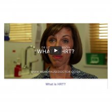 New videos about menopause and treatments