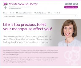 Re-branded and improved Menopause Doctor website is now live!