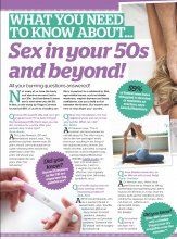 What you need to know about... Sex in your 50s and beyond!