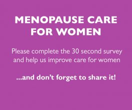 Survey launched to help improve menopause care