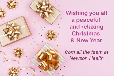 Christmas & New Year wishes from Dr Newson & her team