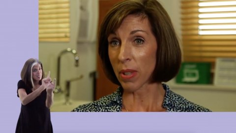 How Does Menopause Affect Women at Work [with sign language]
