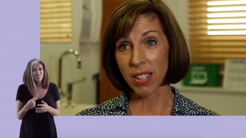 GPs and the Menopause [with sign language]