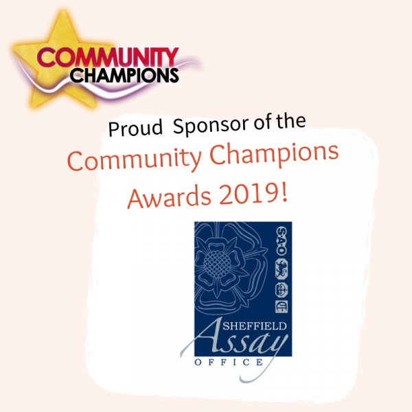 Sheffield Assay Office provides awards for SYCF's first ever Community Champion Awards