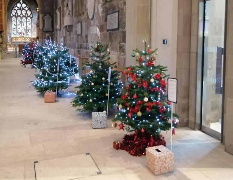 Mary and John Parsons Remembered in Christmas Tree Festival