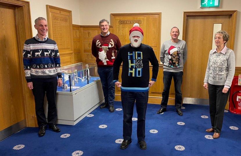 Sheffield Assay Office Team Get into the Festive Spirit