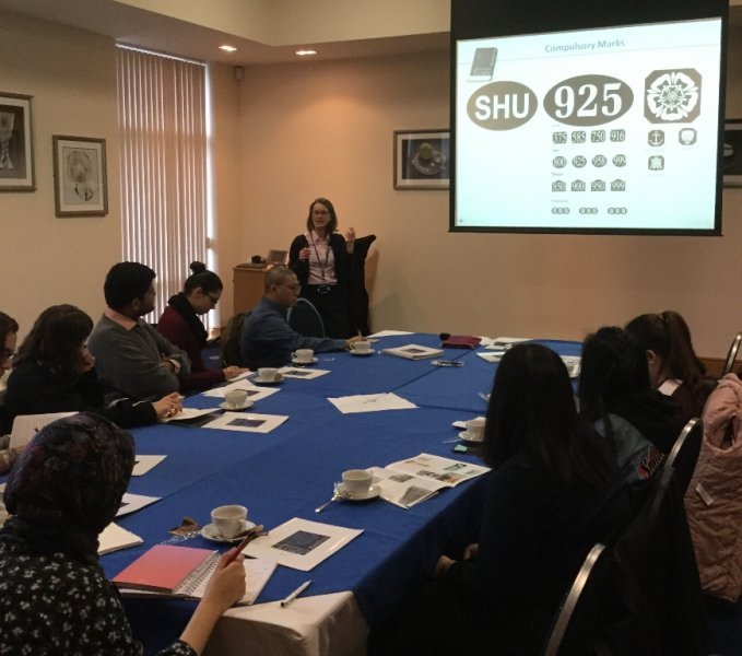 Sheffield Hallam University Students Learn the History of The Assay Office