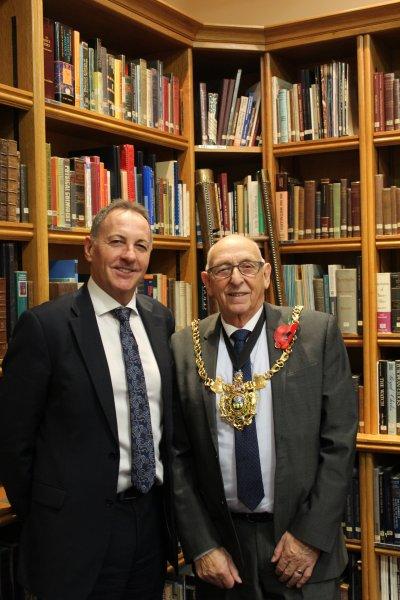 Lord Mayor Tony Downing visits Sheffield Assay Office
